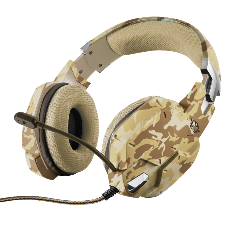 GXT 322D Carus Gaming Headset - desert camo-Extra