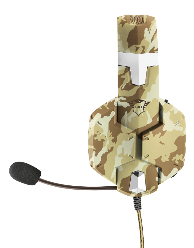 GXT 322D Carus Gaming Headset - desert camo-Side