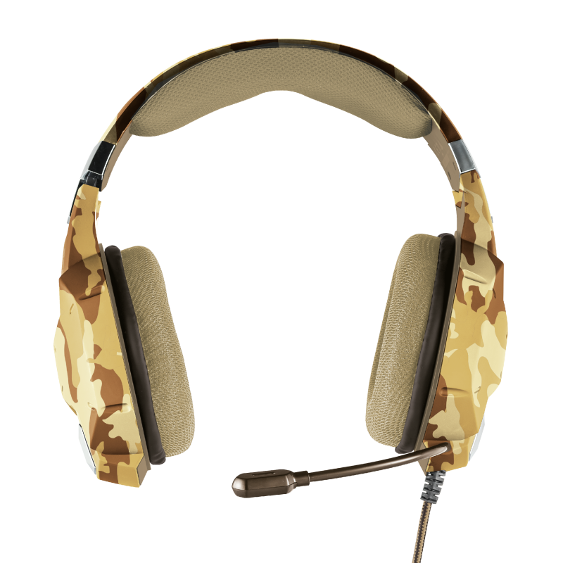 GXT 322D Carus Gaming Headset - desert camo-Top