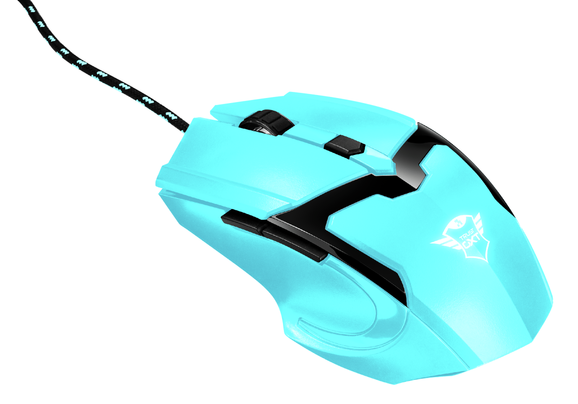 GXT 101-SB Spectra Gaming Mouse - blue-Visual