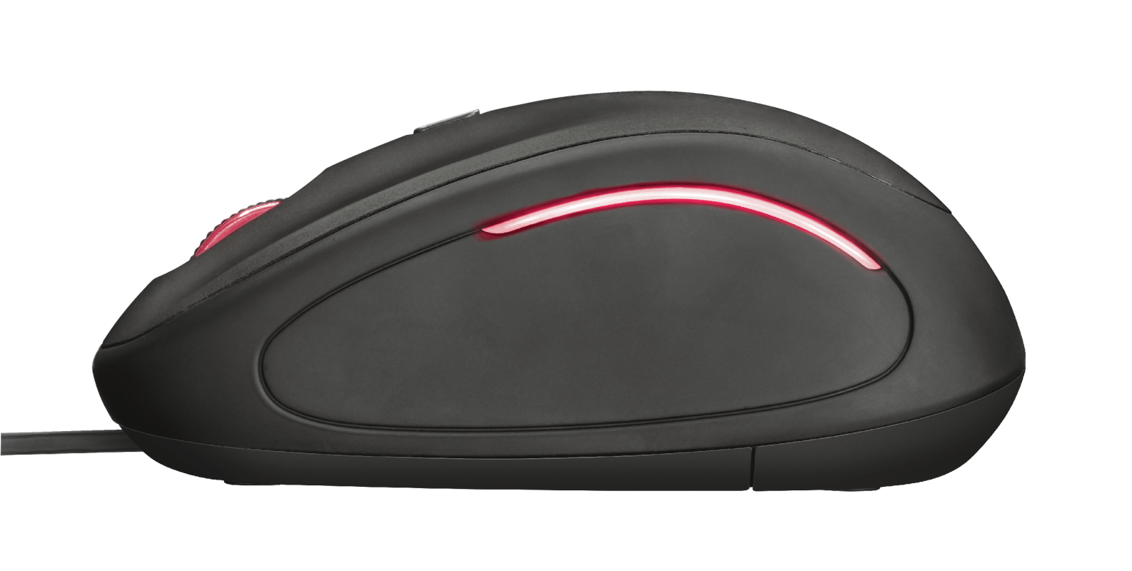 Yvi FX compact mouse-Side