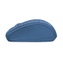 Yvi Fabric Wireless Mouse - blue-Side