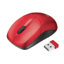 Inu Small Wireless Mouse - red-Visual