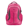 """Lima Backpack for 16"""" laptops - neon pink-Front"""