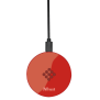 Primo10 Fast Wireless Charger for smartphones - red-Top