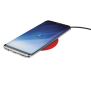 Primo10 Fast Wireless Charger for smartphones - red-Visual