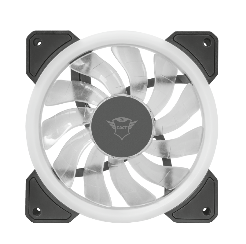 GXT 770 RGB Illuminated PC Case Fan 2-pack-Front