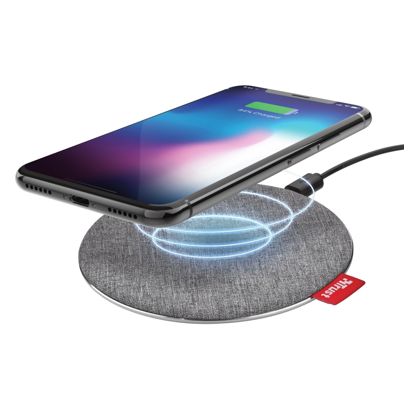 Fyber10 Fast Wireless Charger 7.5/10W for smartphones-Visual