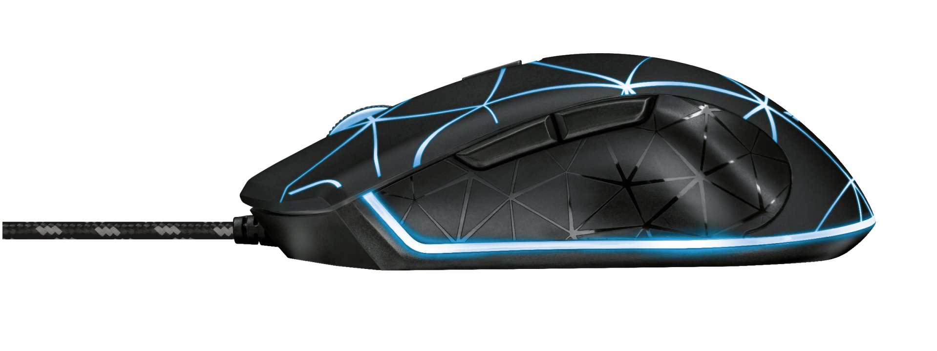 GXT 133 Locx Illuminated Gaming Mouse-Side