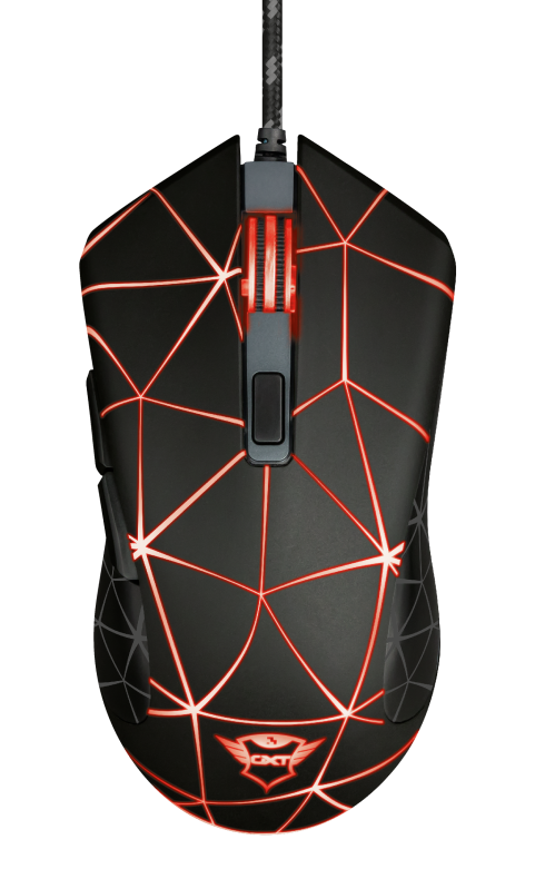 GXT 133 Locx Illuminated Gaming Mouse-Top