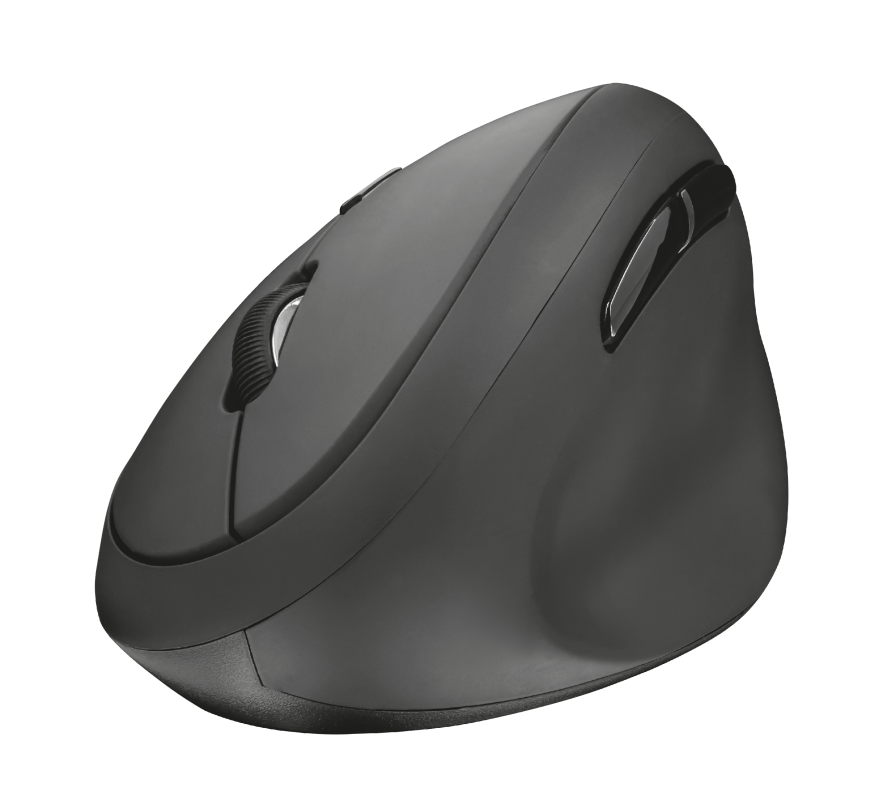 Orbo Compact Ergonomic Wireless Mouse-Top