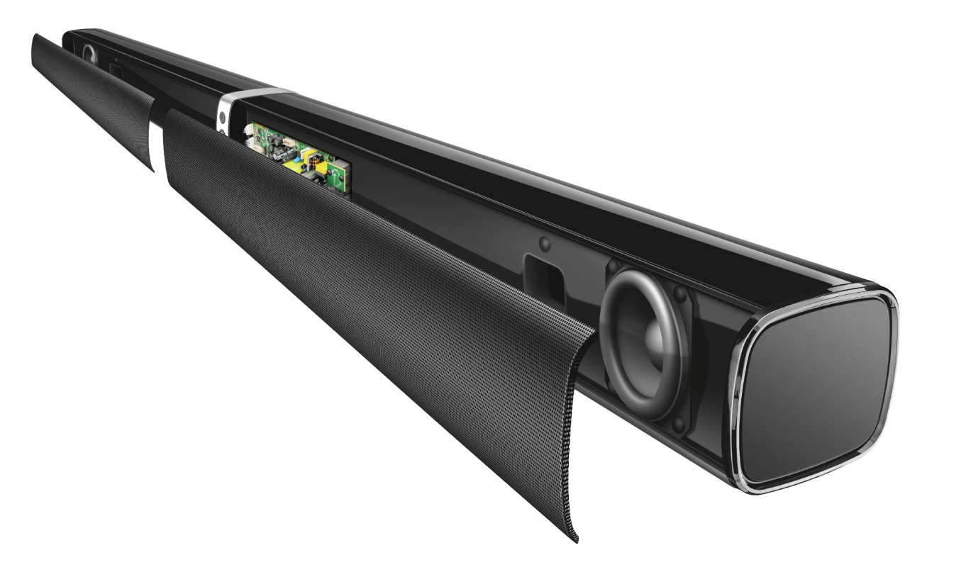 Lino XL 2.1 Detachable All-round Soundbar with subwoofer with Bluetooth-Extra