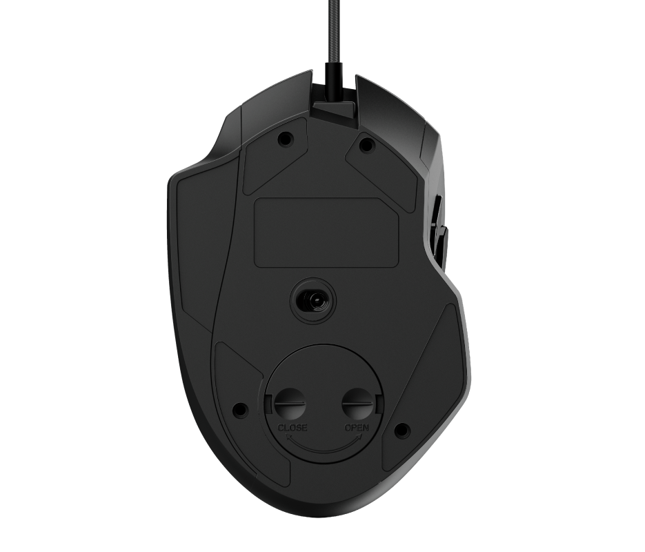 GXT 165 Celox RGB Gaming Mouse-Bottom