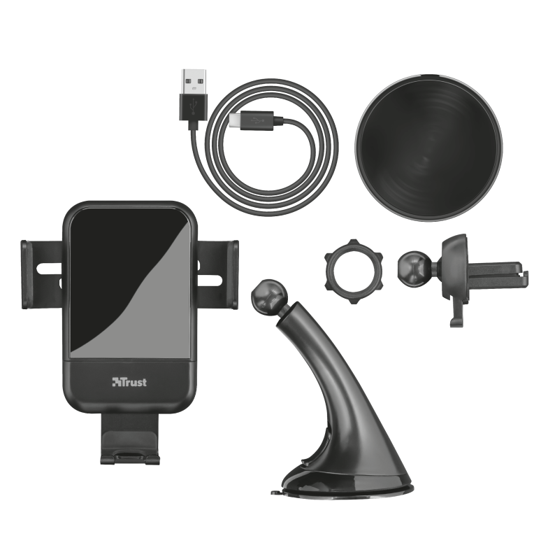 Juvo10 Wireless Fast-charging Car Phone Holder-Extra