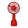 Ventu-Go Portable Cooling Fan – red-Front