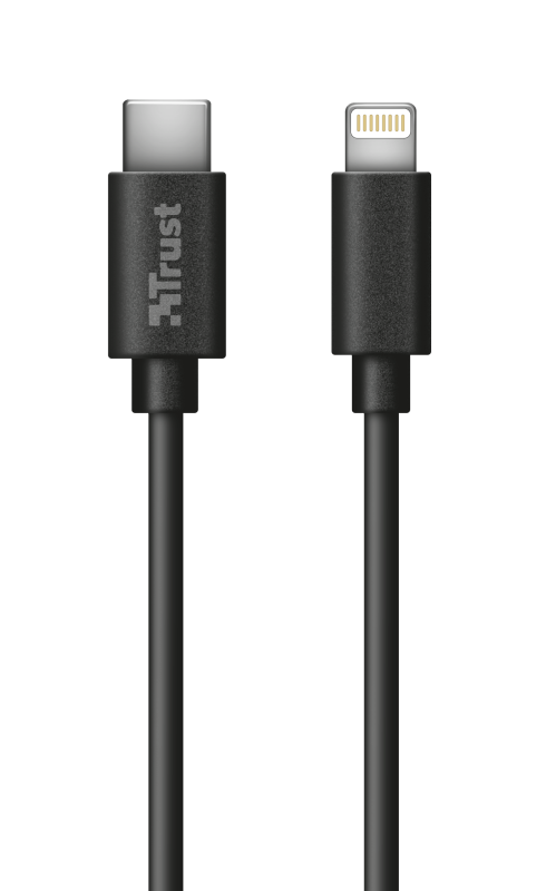 Lightning to USB-C cable 1m-Top