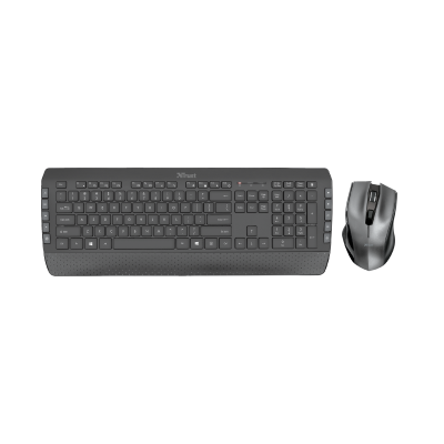 Tecla-2 Wireless Keyboard with mouse-Top