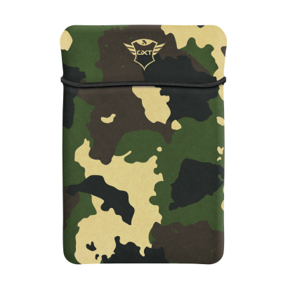 """GXT 1244C Lido Sleeve for 17.3"""" Laptops - jungle camo-Top"""