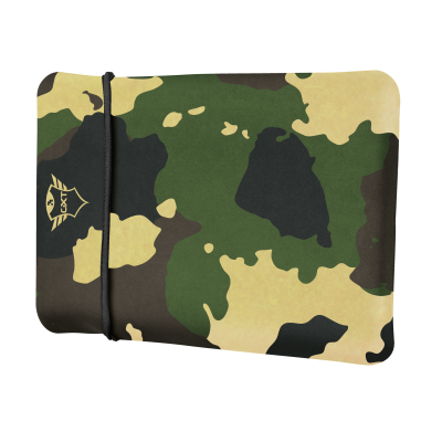 """GXT 1244C Lido Sleeve for 17.3"""" Laptops - jungle camo-Visual"""