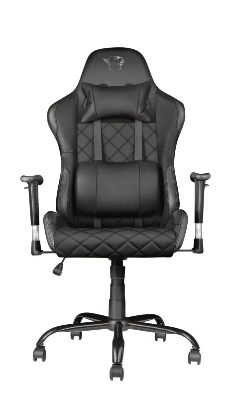 GXT 707 Resto Gaming Chair - black-Front