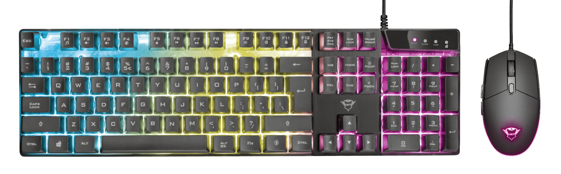 GXT 838 Azor Keyboard and Mouse Set-Top