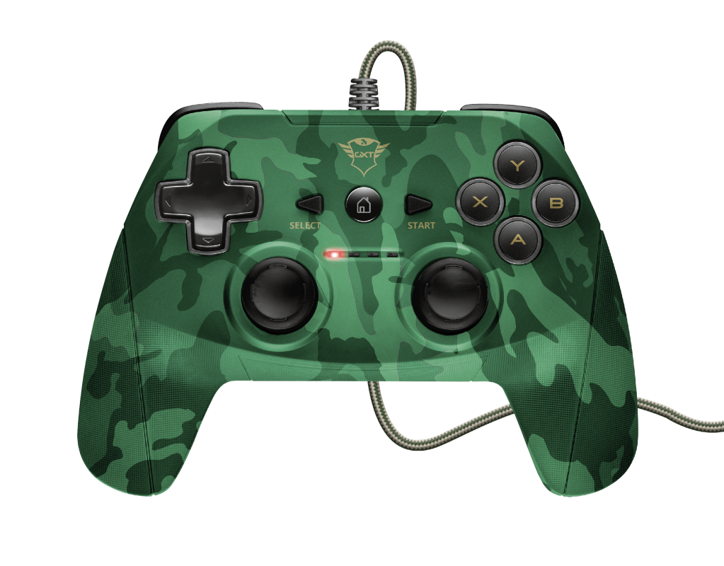 GXT 540C Yula Wired Gamepad - camo-Top