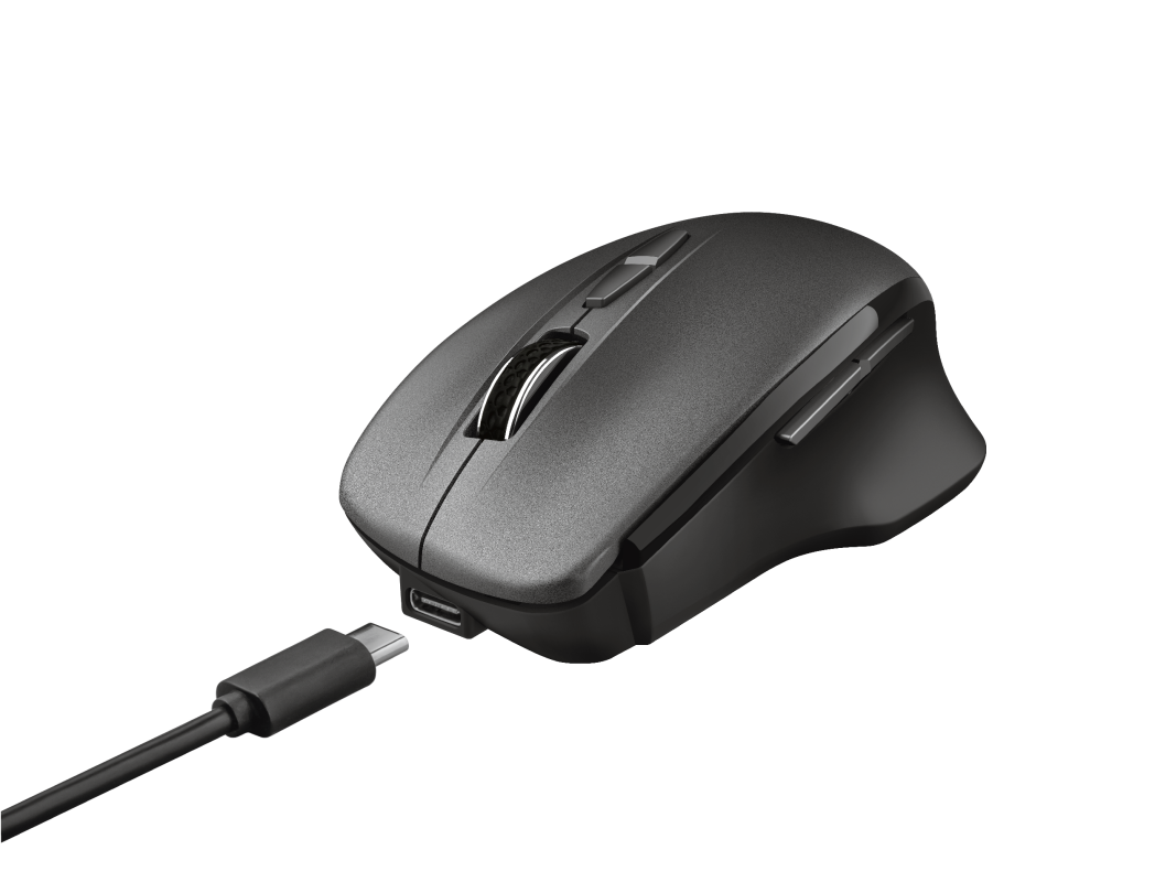 Themo Rechargeable Wireless Mouse-Visual