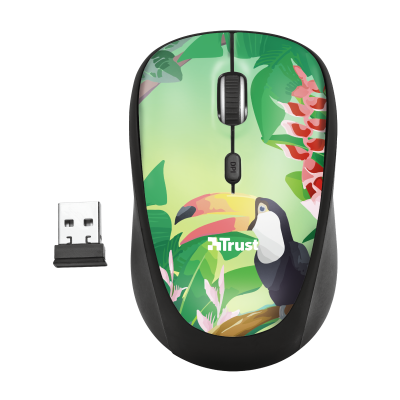 Yvi Wireless Mouse - toucan-Top