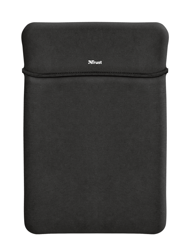 """Yvo Reversible Sleeve for 15.6"""" Laptops with wireless mouse - black-Top"""
