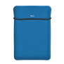 """Yvo Reversible Sleeve for 15.6"""" Laptops with wireless mouse - blue-Top"""