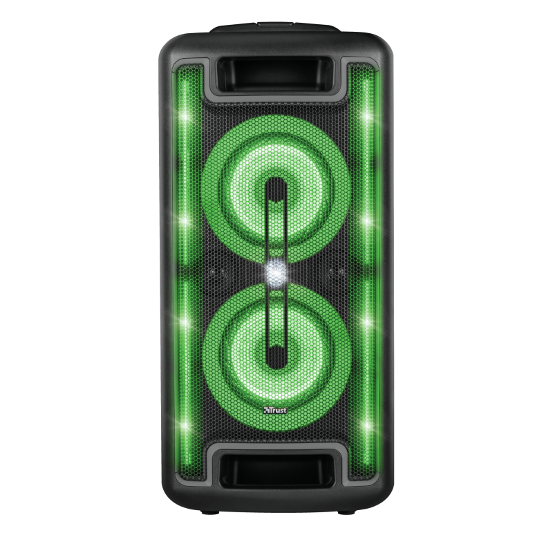Klubb MX GO Portable Party Speaker with RGB lights-Front