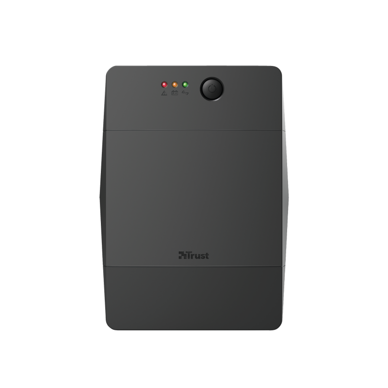 Paxxon 1500VA UPS with 4 standard wall power outlets-Front
