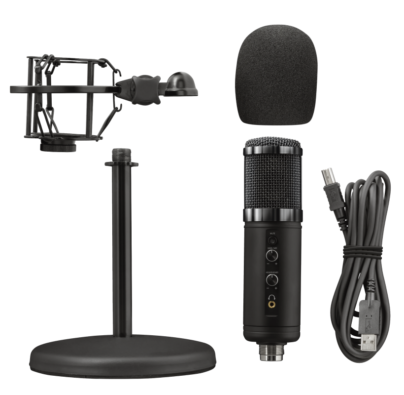 GXT 256 Exxo USB Streaming Microphone-Extra