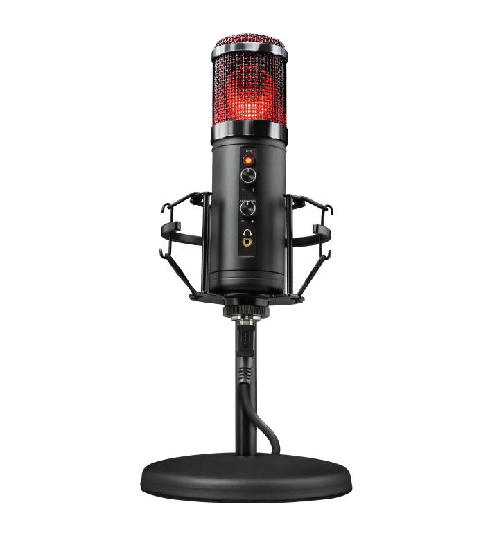 GXT 256 Exxo USB Streaming Microphone-Front