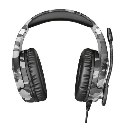GXT 488 Forze-G PS4 Gaming Headset PlayStation® official licensed product - grey-Front