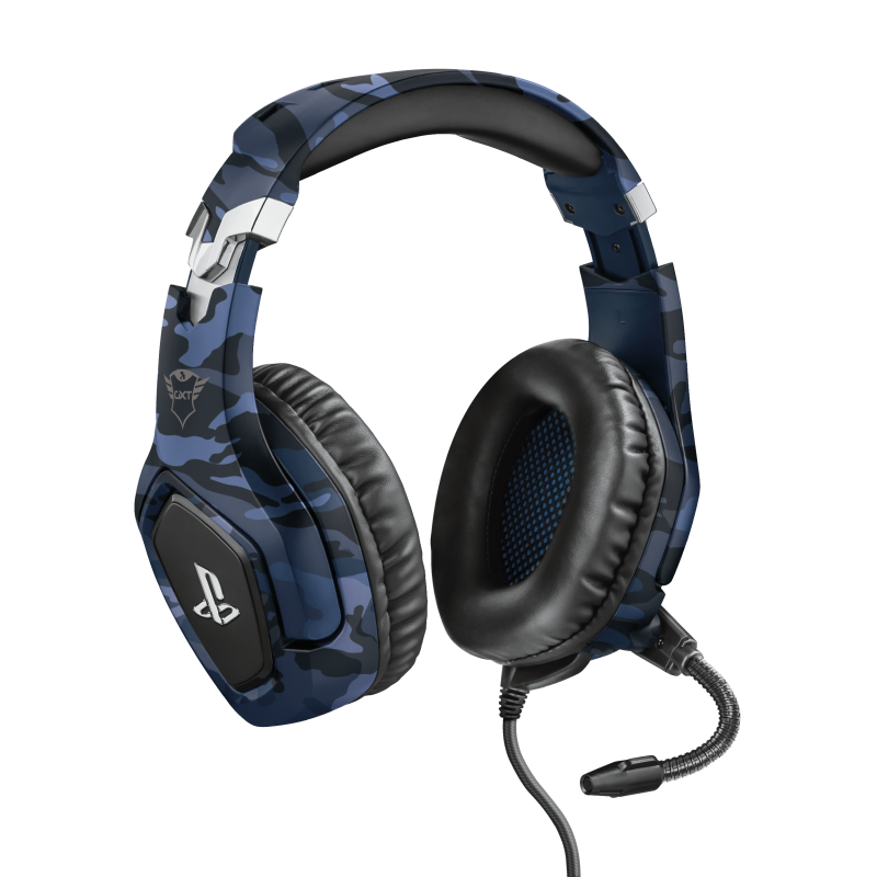 GXT 488 Forze-B PS4 Gaming Headset PlayStation® official licensed product - blue-Visual