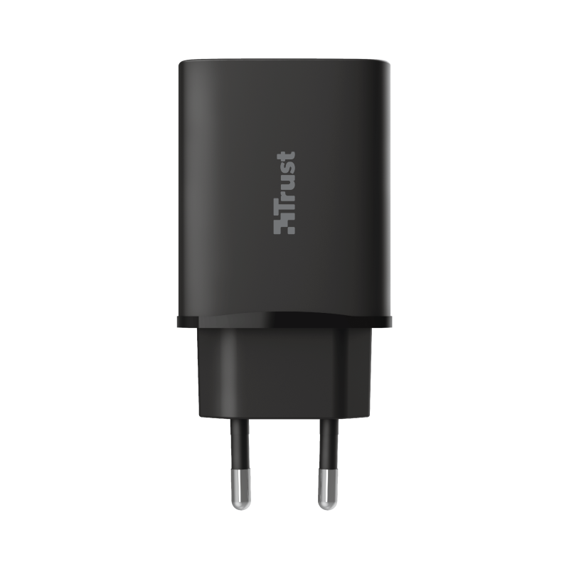 Qmax 18W Ultra-Fast USB-C Wall Charger with PD-Top