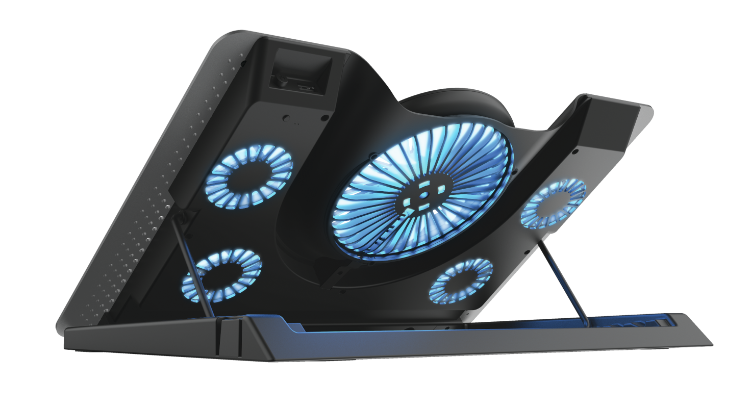 GXT 1125 Quno Laptop Cooling Stand-Extra