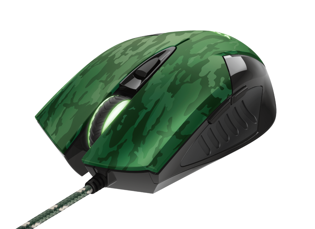 GXT 781 Rixa Camo Gaming Mouse & Mouse Pad-Visual