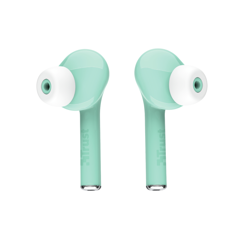 Nika Touch Bluetooth Wireless Earphones - turquoise-Top
