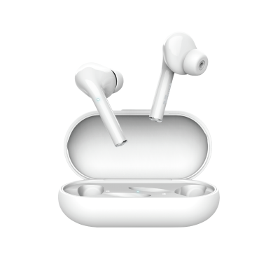 Nika Touch Bluetooth Wireless Earphones - white-Front