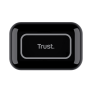 Primo Touch Bluetooth Wireless Earphones - black-Top