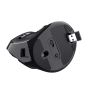 Voxx Rechargeable Ergonomic Wireless Mouse-Bottom