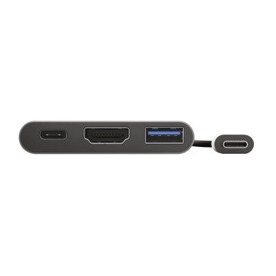 Dalyx 3-in-1 Multiport USB-C Adapter-Front