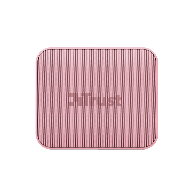 Zowy Compact Bluetooth Wireless Speaker - pink-Front