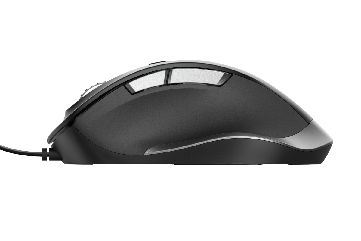 Fyda Wired Comfort Mouse-Side
