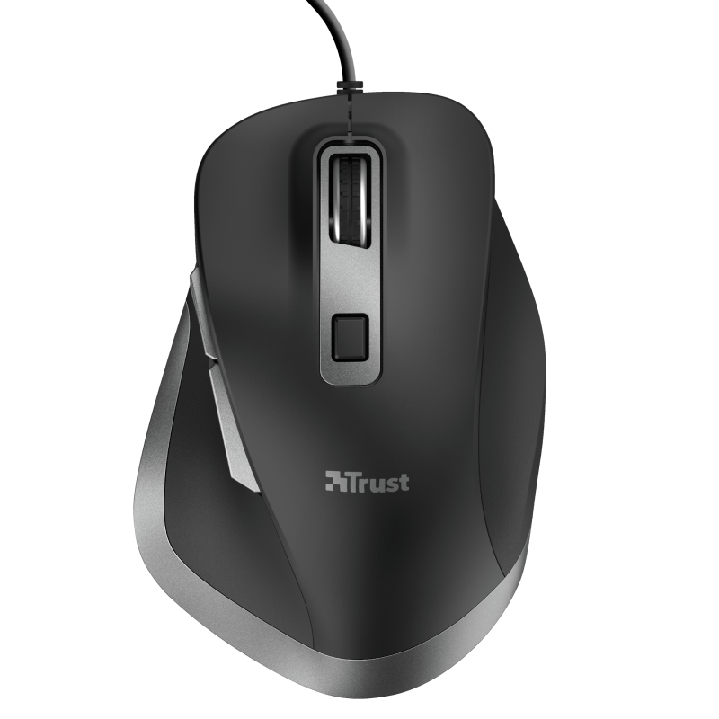 Fyda Wired Comfort Mouse-Top