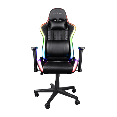 GXT 716 Rizza RGB LED Illuminated Gaming Chair-Front