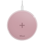 Qylo Fast Wireless Charging Pad 7.5/10W - pink-Top