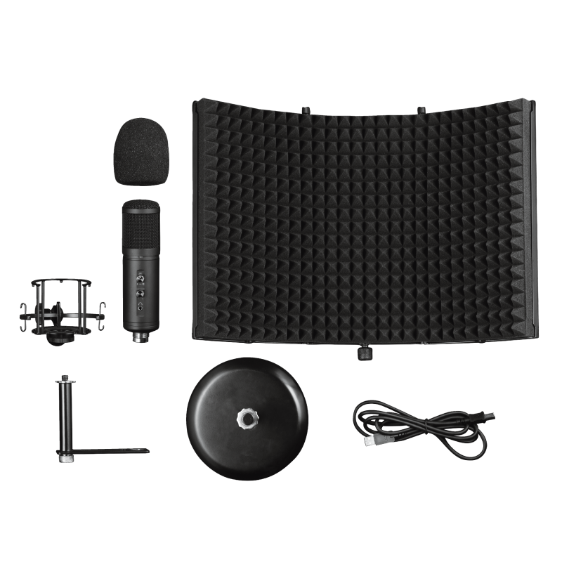 GXT 259 Rudox Studio Microphone with reflection filter-Extra